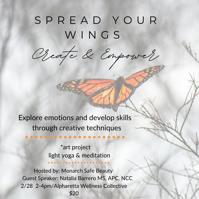 Spread Your Wings: Create & Empower Workshop